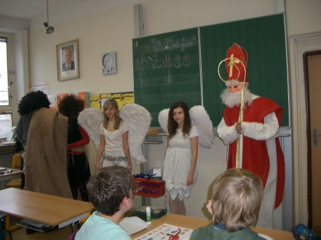 Mikuláš ve škole 004
